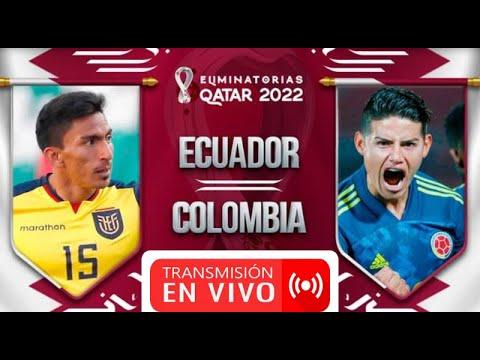 Ecuador vs. Colombia en vivo por las Eliminatorias: partido online ...