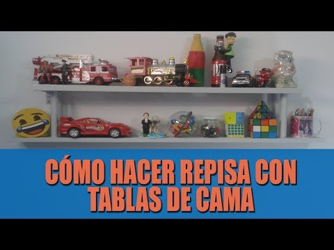 Repisa con madera reciclada - Ideas Creativas, DIY