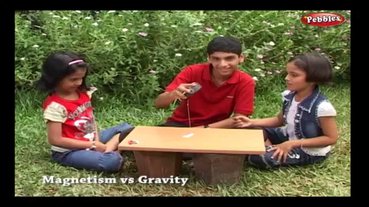 medium resolution of Magnetism Vs Gravity   Science Experiments   Science Projects   Science  Tricks   Science of Stupid - YouTube