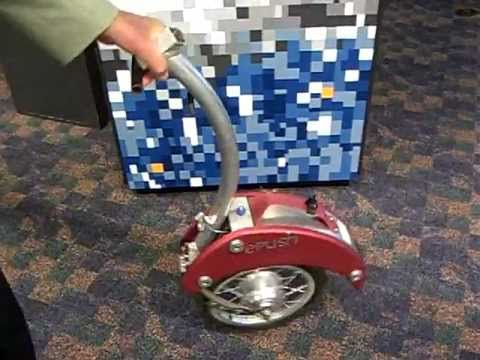 Out Of The Box 3rd Electric Wheel Pusher For Bicycles Youtube