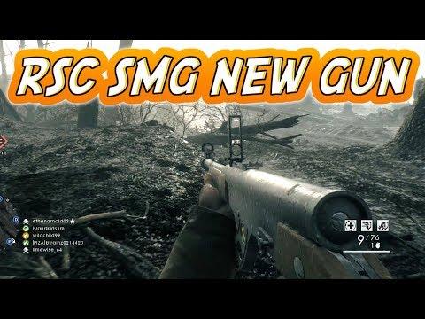 Battlefield 1: RSC SMG APOCALYPSE DLC NEW GUN – BF1 Multiplayer Gameplay