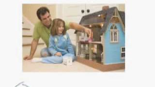 Wooden Doll House Kits, Including Victorian Doll Houses Avai
