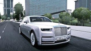 City Car Driving - Rolls-Royce Phantom VIII 2018 | Custom SOUND | Cinematic | 1080p & G27