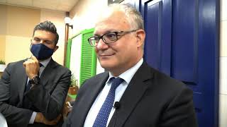 Molfetta. La visita del ministro dell'Economia Gualtieri in Network Contacts