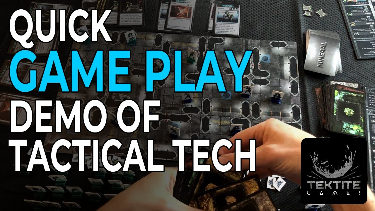 Quick GAME PLAY of Tactical Tech