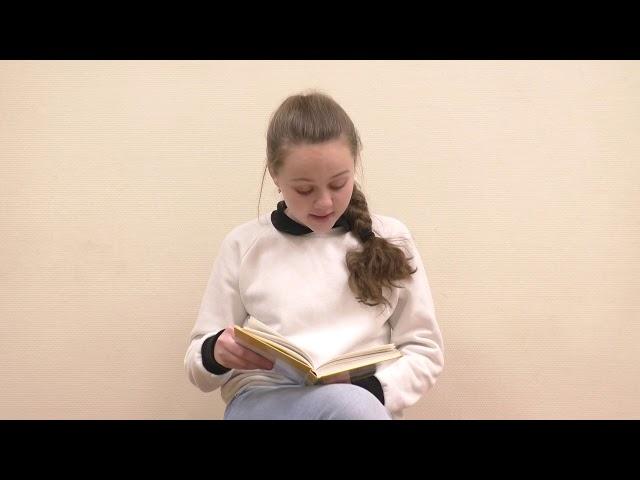 Изображение предпросмотра прочтения – УльянаЧемага читает произведение «Просто старушка» В.А.Осеевой