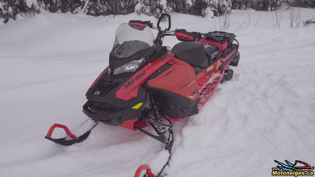 Ski-Doo 2020— A look at the Main New Features Presented by