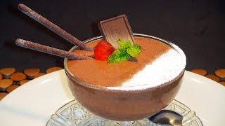 Mousse de chocolate facil  (SUBTITULADO PARA SORDOS) - La Cocina de Loli Domínguez
