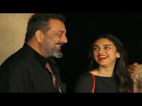 Sanjay Dutt's funny reply to media when asked to pose !