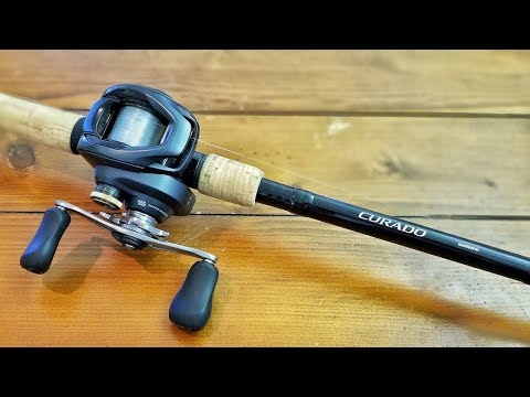 Tanner Worley Shimano Rep shows new Curado Reel and Expride Rod