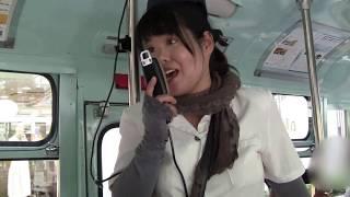 豊後高田のボンネットバス と陽気なバスガイドさん・福岡天神を走る
