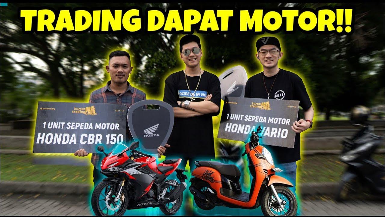 BARU BELAJAR TRADING MALAH DAPAT MOTOR 50 JUTA!!
