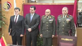 بالفيديو.. الفريق أول صدقى صبحى يستقبل وزير الدفاع القبرصى