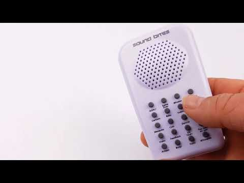 Electronic Sound Bites 2.0 | handheld sound effects machine!