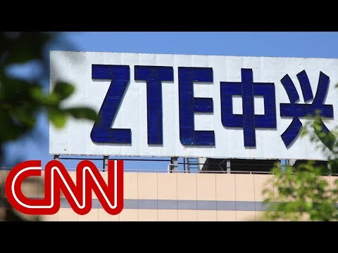 Trump vows to help Chinese tech giant ZTE