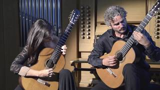 Melis Duo play Piazzolla for new technique video!