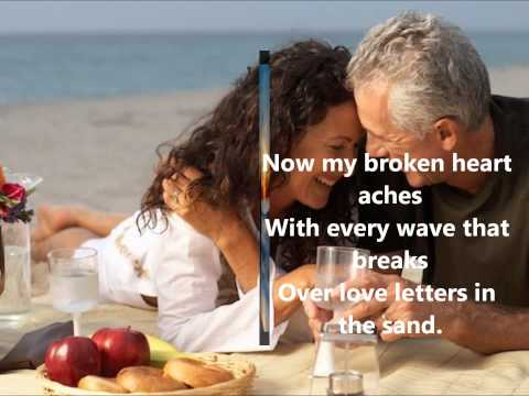 Pat Boone- Love Letters In The Sand (lyrics)