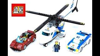 полицейский вертолет из  LEGO CITY