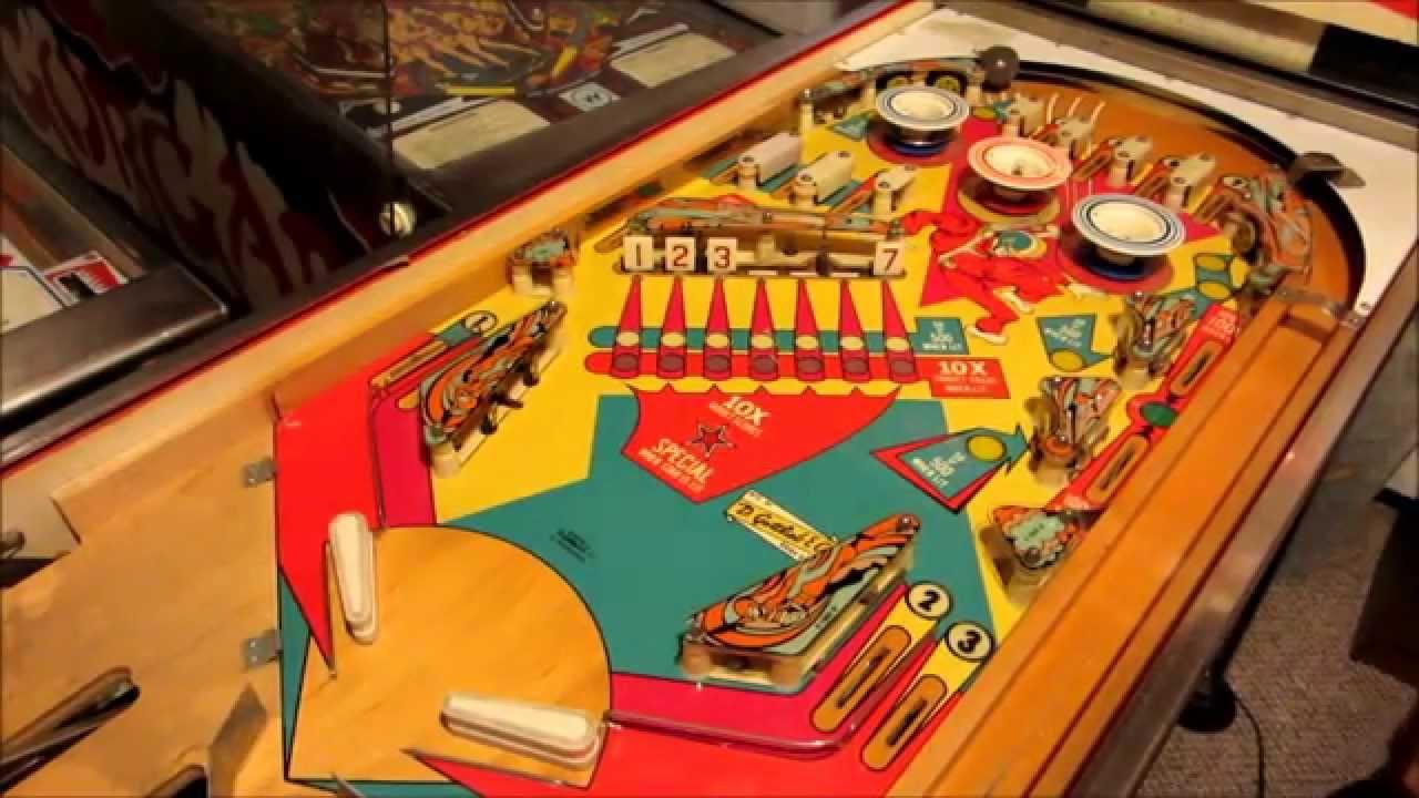 1974 Gottlieb Sky Jump Pinball Repair And Refurb Part 1 Of 5 Youtube