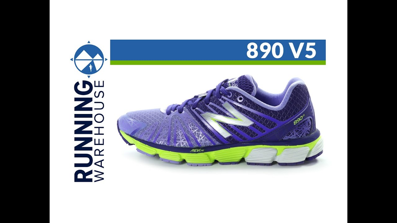 New Balance W890PB3 Blue Pink Womens Lightweight Running Running Shoes; New  Balance 890 v5 for women