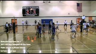 2012 San Gabriel Valley Boys All-Star Game : Underclassmen Game Set 1