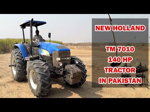 New Holland TM7010 140HP Tractor in Pakistan | Specs & Preview