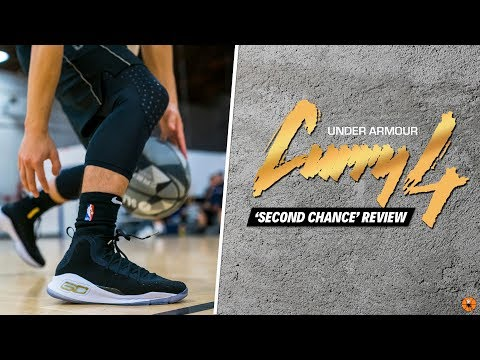 I GAVE THE UNDER ARMOUR CURRY 4 A SECOND CHANCE