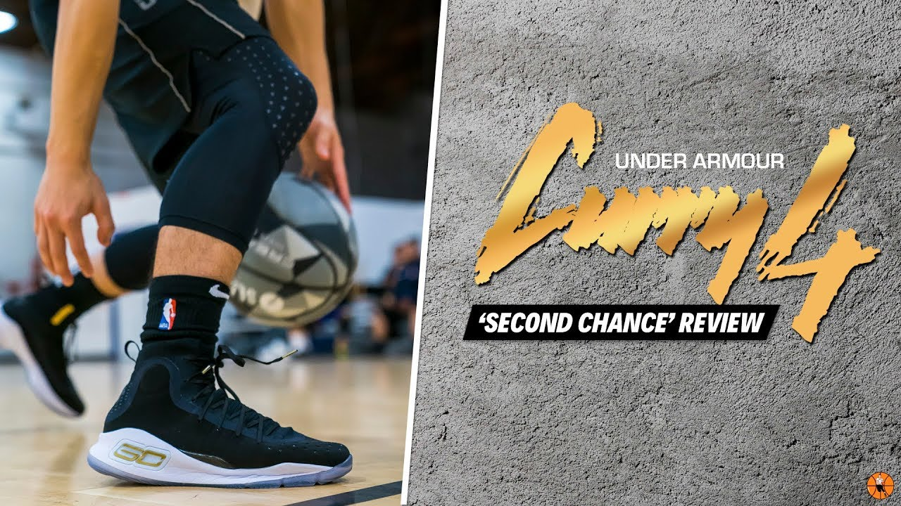 a9dddd67437b I GAVE THE UNDER ARMOUR CURRY 4 A SECOND CHANCE - YouTube