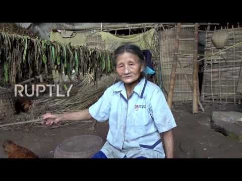China: Elderly couple make this cave their home for 54 years