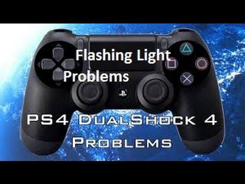 Ps4 Controller White Light Not Responding