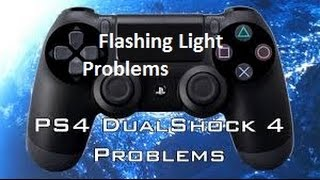 PS4 Controller Flashing Light Problem Quick Fix