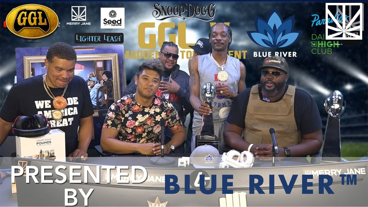 Snoop Dogg Plays Madden 20 with his Homies in the GGL V Championship [Part 7]