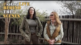 SafariLIVE crew meets you - Kim and Susan stop by for a visit! thumbnail