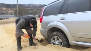 Школа внедорожной езды Great Wall. Урок 5. Движение по сыпучему грунту. Песок.
