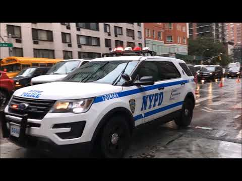 COMPILATION OF NYPD & UNITED STATES SECRET SERVICE ESCORTING DIPLOMATS DURING U.N. MEETINGS.  3