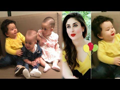 Kareena Kapoor's Son Taimur Ali Khan | Rani Mukerji's Daughter Adira's Birthday Mp3