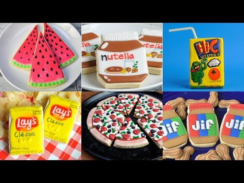 Best Decorated Cookies That Look Like Other Foods