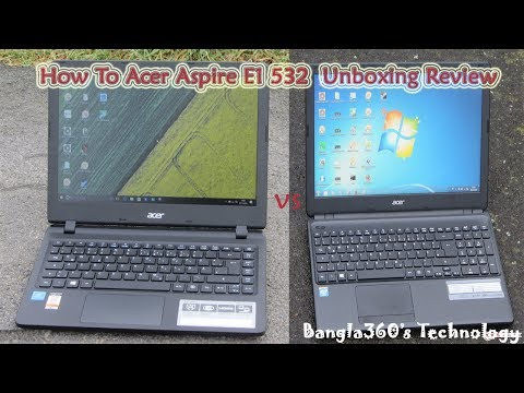 how-to-acer-aspire-e1-532-2448-notebook-15.6'-unboxing-review