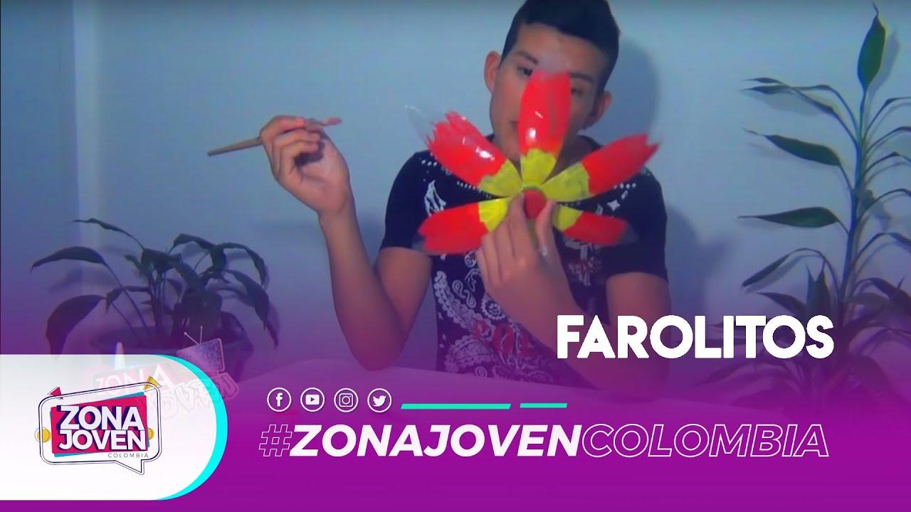Farolitos con material reciclable youtube for Decoracion de espejo con material reciclable