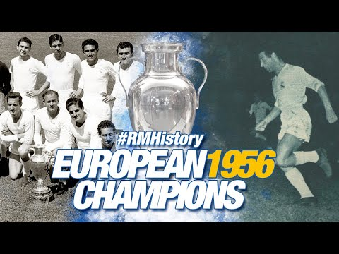 European Cup final 1956   Real Madrid 4-3 Stade de Reims