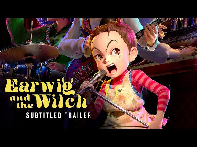 Earwig and the Witch [Official Subtitled Trailer, GKIDS]