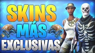 FORTNITE BATTLE ROYALE'S MOST EXCLUSIVE SKINS ET OBJECTS