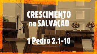 IP Arapongas - Pr Donadeli - CRESCIMENTO NA SALVAÇÃO -  08-11-2020