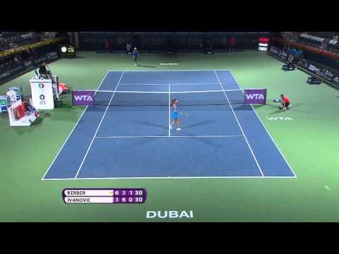 2014 Dubai Duty Free Tennis Championships Day 2 WTA Highlights