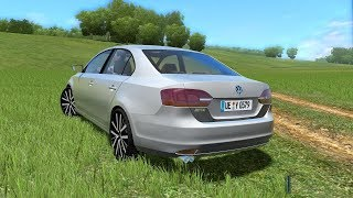 City Car Driving 1.5.4 | Volkswagen Jetta 2016 | 60FPS 1080p | NEW GAME PC