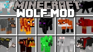 Download Minecraft EXTREME WOLF MOD / PLAY AND PET LOADS DIFFERENT WOLVES!! Minecraft Mp3 and Videos