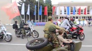 День победы 2016 въезд на площадь Ст. Павловской