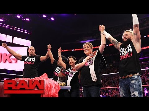 """Enzo & Cass celebrate being """"More than Pink"""" for Breast Cancer Awareness Month: Raw, Oct. 3, 2016"""