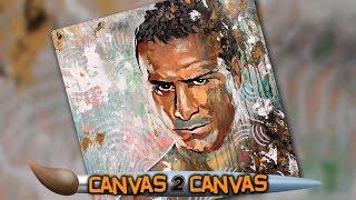 فيديو: لوحة فنية لبطل الولايات المتحدة ديل ريو