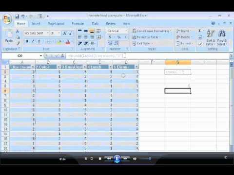 survey templates in excel - Funfpandroid